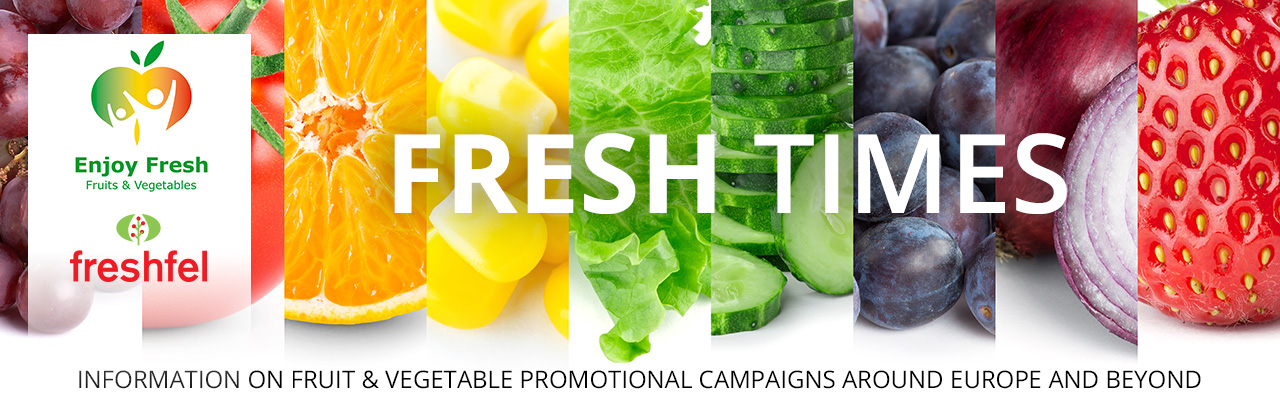Information on fruit & vegetable promotional campaigns around Europe and beyond