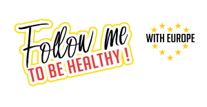 Follow me to be healthy logo